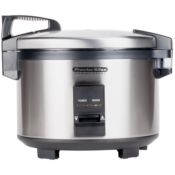 Proctor Silex 37540 40 Cup (20 Cup Raw) Rice Cooker / Warmer - 120V