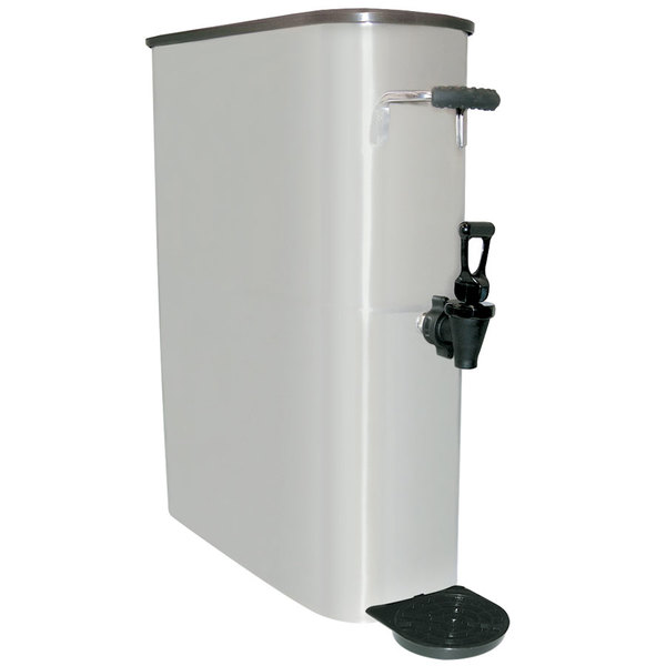 5 Gallon Narrow Stainless Steel Iced Tea Dispenser