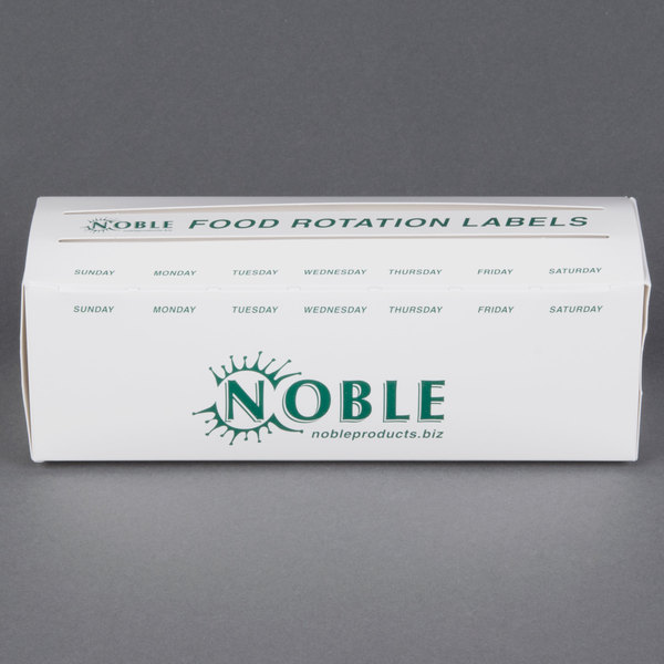 Noble Products 3/4 inch and 1 inch Day Dot Label Dispenser Carton