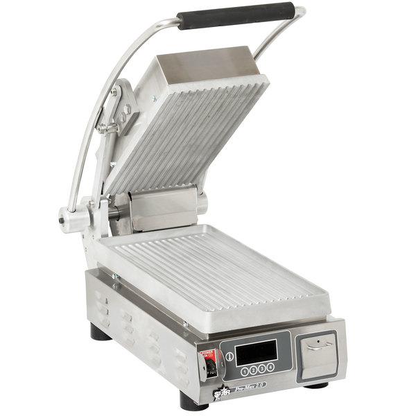 how to clean a commercial sandwich press