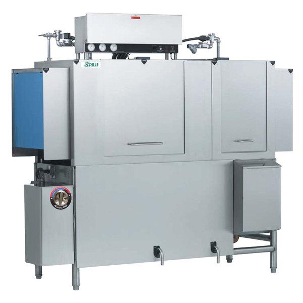 Noble Warewashing 66 Conveyor Low Temperature Dishwasher - Left to Right