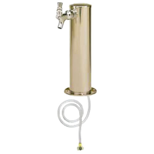 Micro Matic D4743T Stainless Steel 1 Tap Tower - 3 inch Column