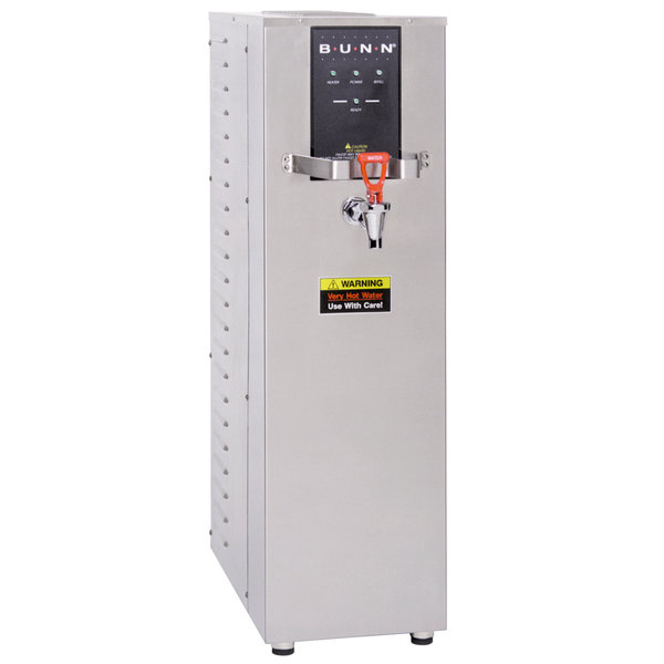 Bunn 26300.0000 H10X-80-240 10 Gallon Hot Water Dispenser, 212 Degrees Fahrenheit - 240V