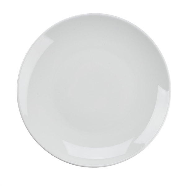 Tuxton VPA-115 Florence Coupe Plate in Porcelain White - 11 3/4 inch 12 / Case