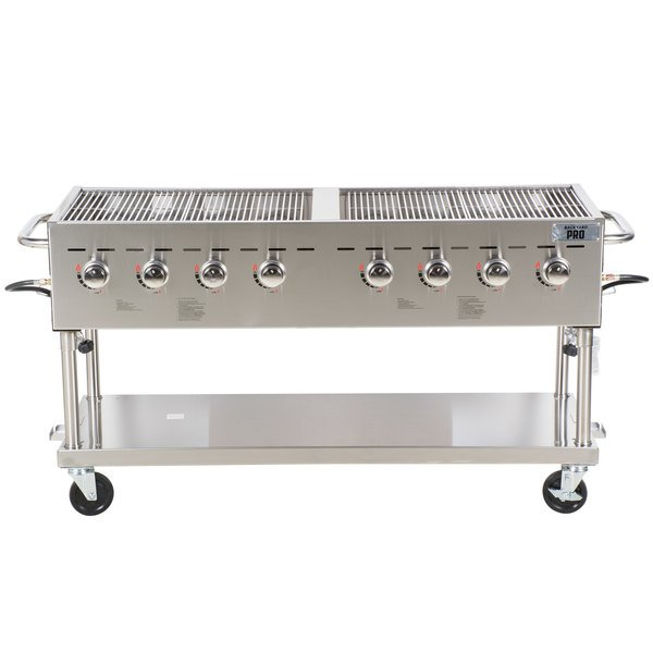Backyard Pro C3H860 60 inch Stainless Steel Outdoor Grill