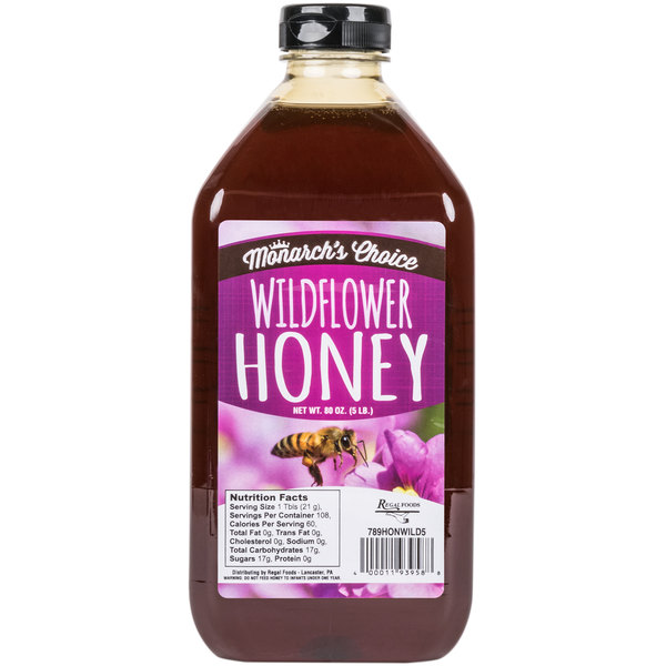 Monarch's Choice Wildflower Honey 5 lb.