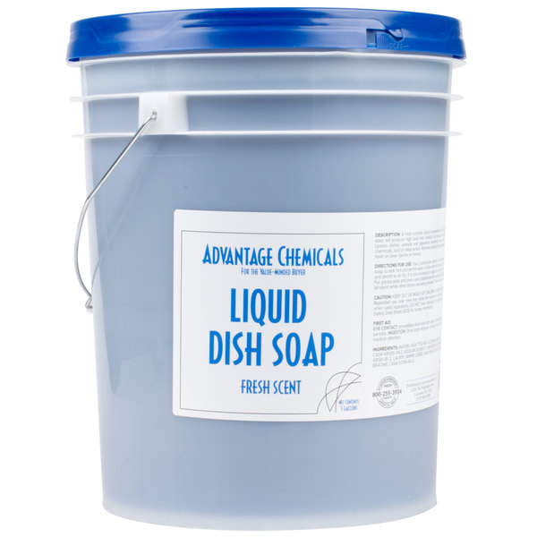 Advantage Chemicals 5 Gallon Liquid Dish Soap