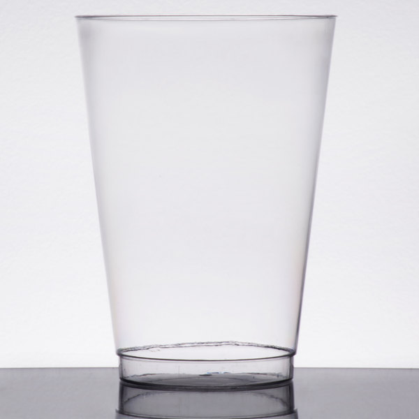 Choice 16 oz. Clear Hard Plastic Tumbler  - 500/Case