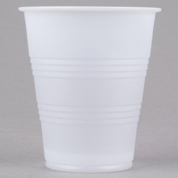 Dart Solo Y7 Conex Galaxy 7 oz. Translucent Plastic Cold Cup - 2500/Case