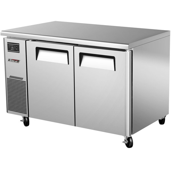 Turbo Air JUF-48 J Series 48 inch Undercounter Freezer with Side Mounted Compressor - 11 Cu. Ft.