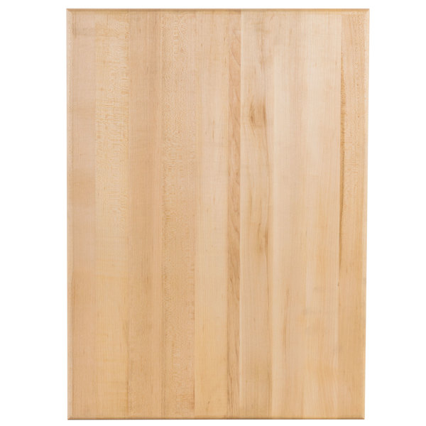 Bally Block Maple Wood Cutting Board - 22 inch x 16 inch x 1 3/4 inch
