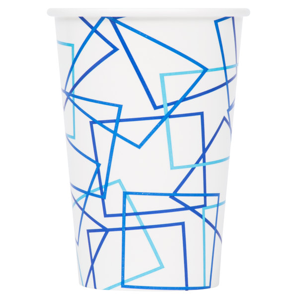 Choice 14-16 oz. Poly Paper Cold Cup  - 1000/Case