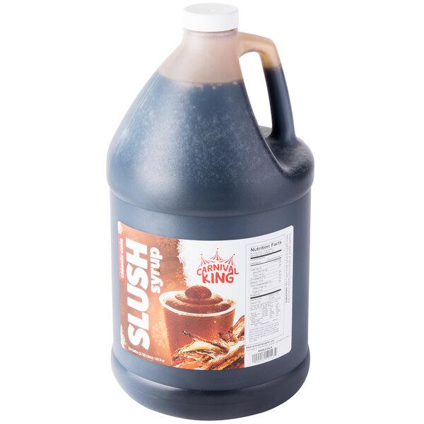 Carnival King 1 Gallon Cola Slushy Syrup - 4/Case