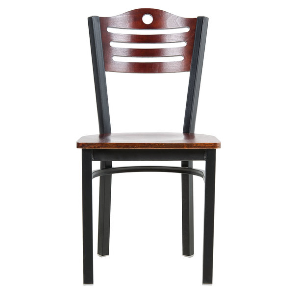 Lancaster Table Seating Mahogany Finish Bistro Dining Chair – Bistro Dining Chair