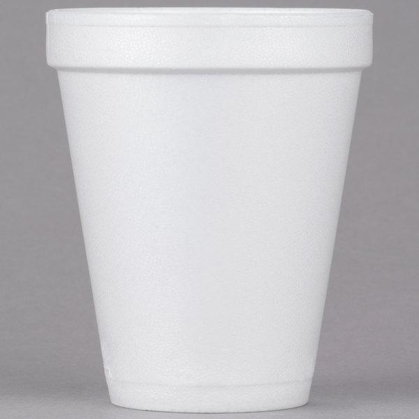 Dart Solo 10J10 10 oz. White Customizable Foam Cup - 1000/Case