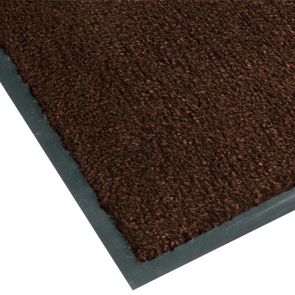 Teknor Apex NoTrax T37 Atlantic Olefin 434-320 4' x 6' Dark Toast Carpet Entrance Floor Mat - 3/8 inch Thick