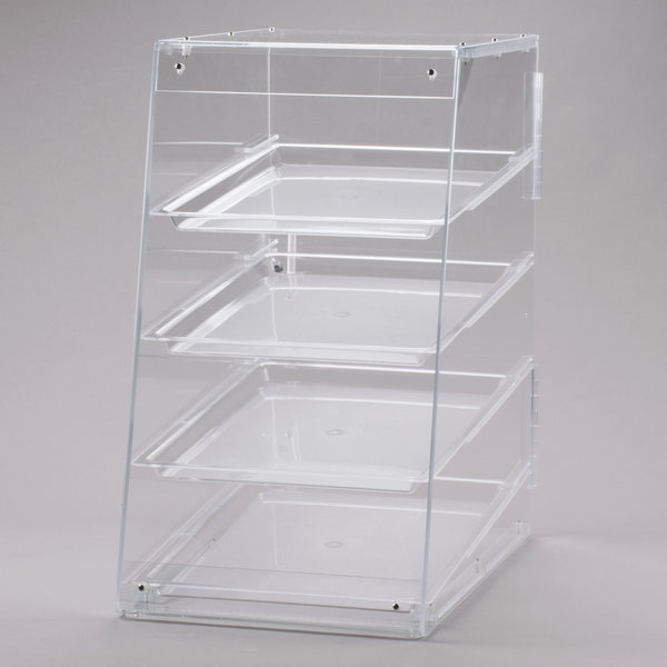 Cal-Mil 1012 Four Tier U-Build Classic Pastry Display Case - 13 1/2 inch x 21 inch x 24 1/2 inch