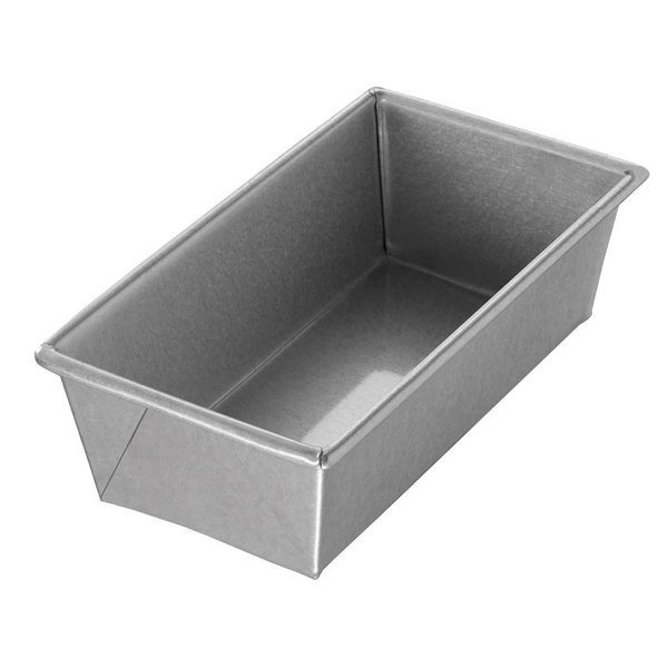 Chicago Metallic 40421 1 lb. Single Open Top Bread Pan - 8 1/2 inch x 4 1/2 inch x 2 3/4 inch