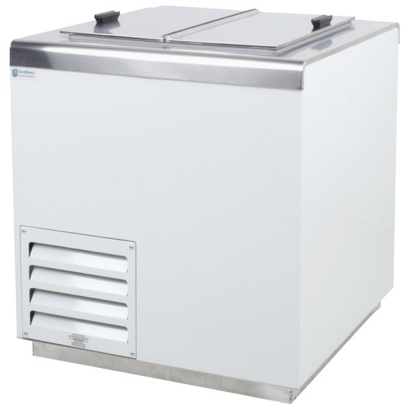 Excellence HFF-4 31 inch Flip Lid Ice Cream Dipping Cabinet