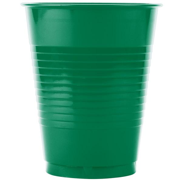 Dart Solo P16GRL-00009 16 oz. Green Plastic Cup - 1000/Case
