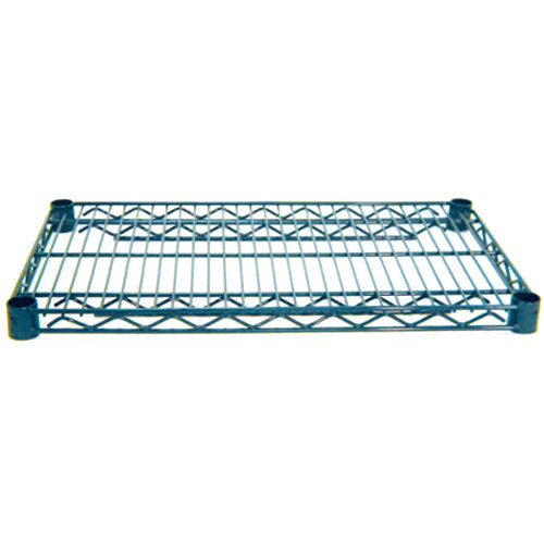 Advance Tabco EG-1460 14 inch x 60 inch NSF Green Epoxy Coated Wire Shelf