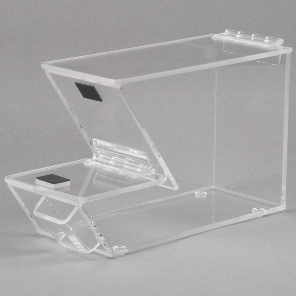 Cal-Mil 927-H Stackable Topping Dispenser with Holster - 4 inch x 11 inch x 7 inch