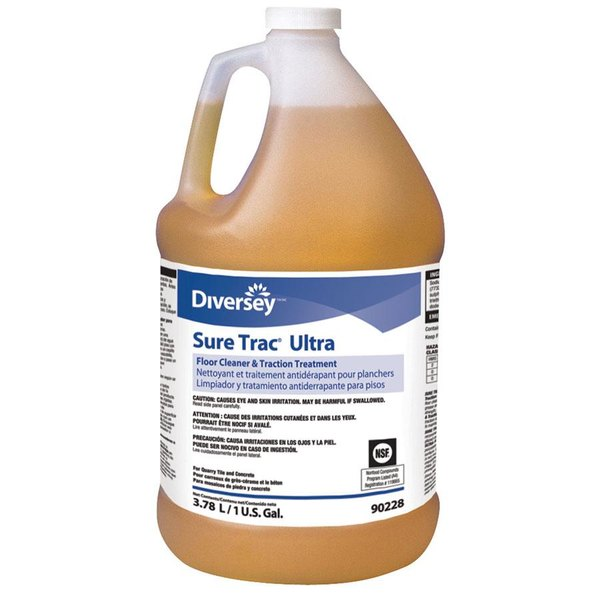 Diversey Sure Trac Ultra 90228 1 Gallon Floor and Tile Cleaner - 2 / Case