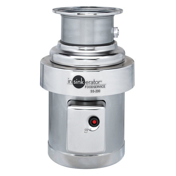 Insinkerator SS-200-29 Commercial Garbage Disposer - 2 hp, 3 Phase