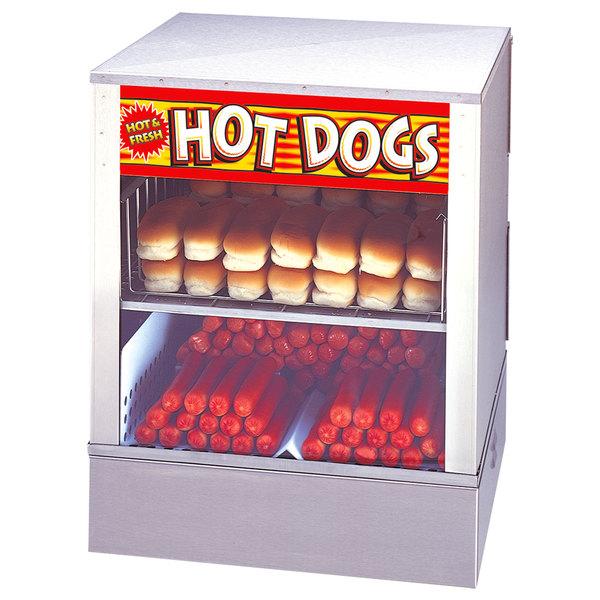 APW Wyott DS-1AP Mr. Frank Self Serve Hot Dog Steamer