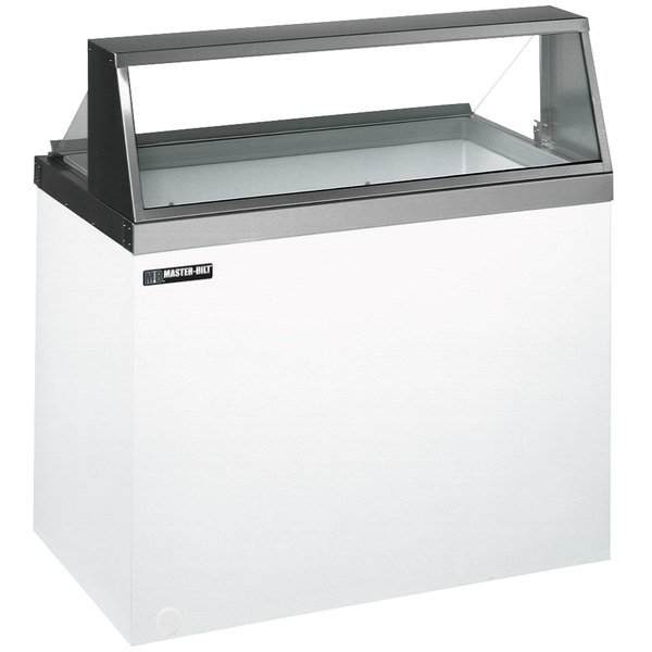 Master-Bilt DD-46 48 inch Straight Glass Ice Cream Dipping Cabinet