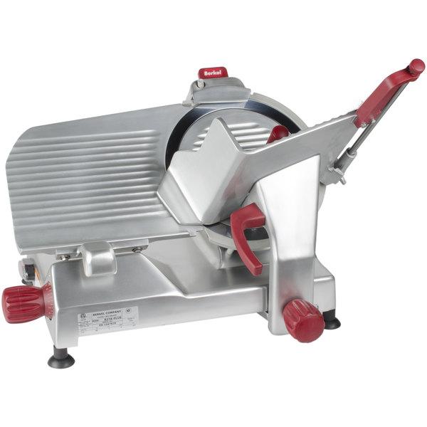 Berkel 827A-PLUS 12 inch Manual Gravity Feed Meat Slicer - 1/2 hp