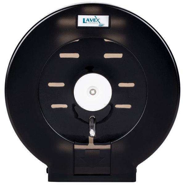Lavex Janitorial Jumbo Toilet Tissue Dispenser - Fits 9 inch Single Roll