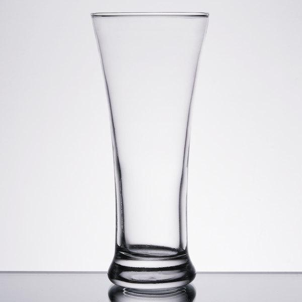 Anchor Hocking 90245 12 oz. Flared Pilsner Glass  - 12/Case