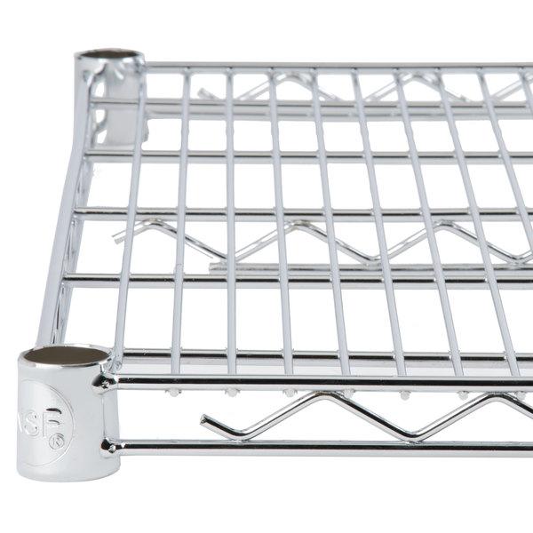 Regency 14 inch x 30 inch NSF Chrome Wire Shelf