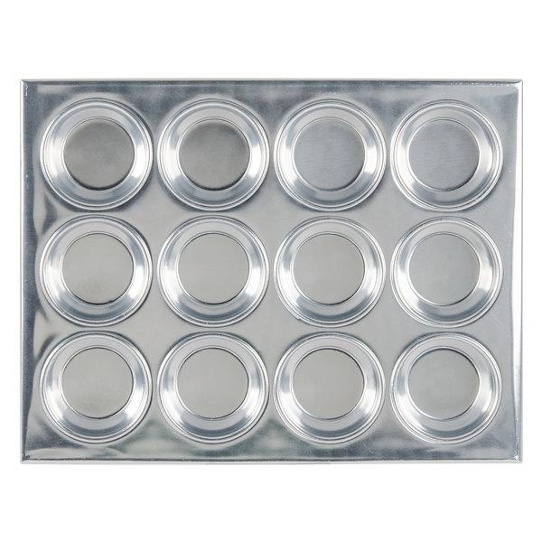 12 Cup Aluminum 3.5 oz. Muffin / Cupcake Pan