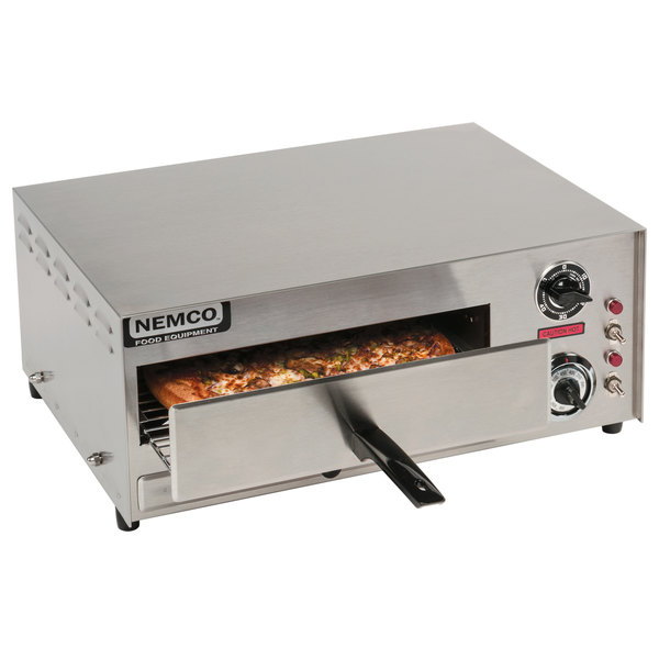 Nemco 6210 Countertop All Purpose / Pizza Oven with Adjustable Thermostat - 120V, 1500W