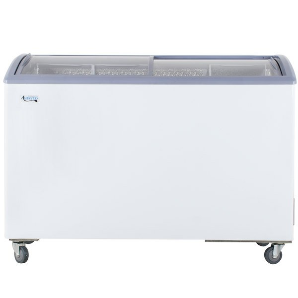 Avantco ICFC12 Curved Lid Display Freezer - 11.6 cu. ft.