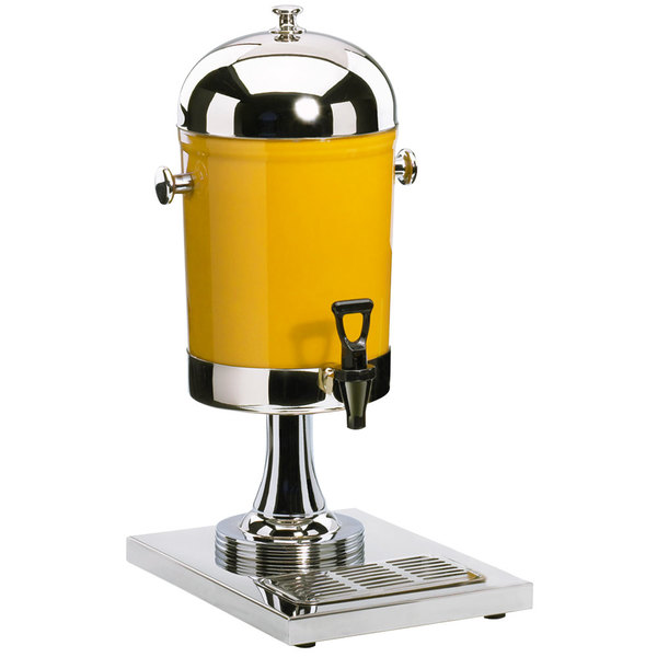 Cal-Mil 1010 2 Gallon Stainless Steel Beverage Dispenser