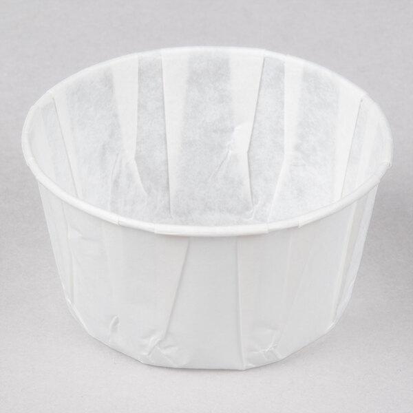 Genpak F550 5.5 oz. Harvest Paper Souffle / Portion Cup 250 / Box