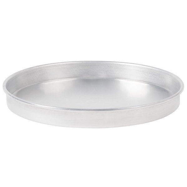 American Metalcraft A4010 10 inch x 1 inch Standard Weight Aluminum Straight Sided Pizza Pan