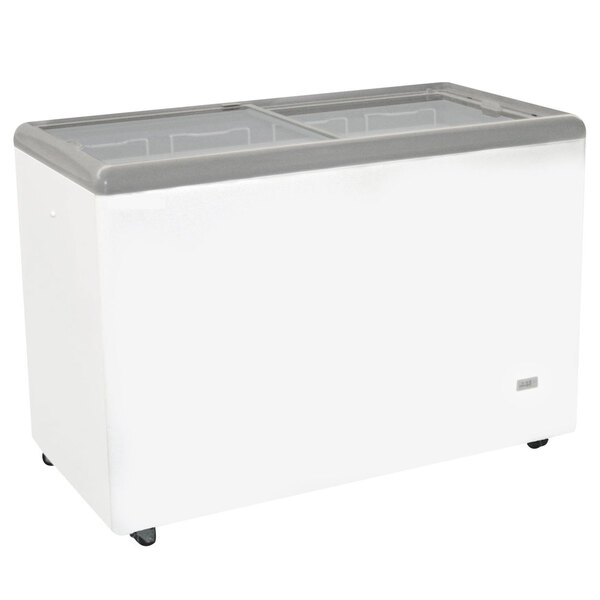 Excellence RIO-H-125 Ice Cream Flat Top Flat Lid Display Freezer - 10.3 cu. ft.