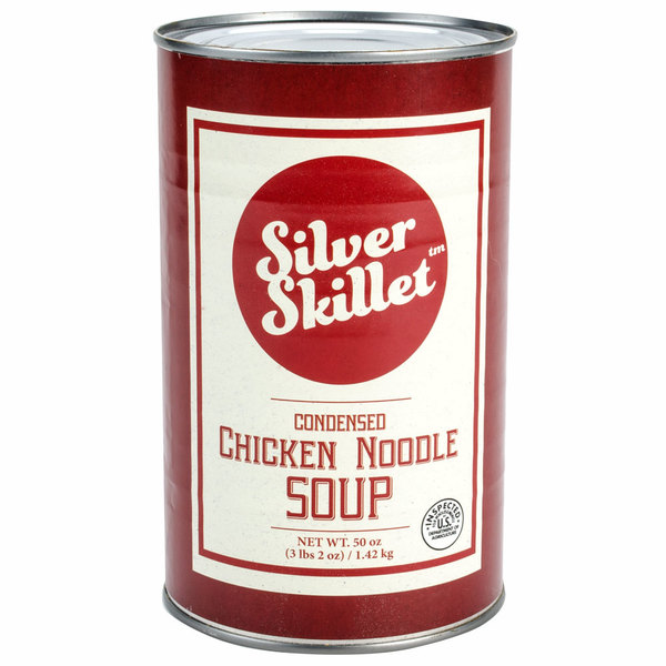 Silver Skillet 550EX 50 oz. Chicken Noodle Soup - 12/Case