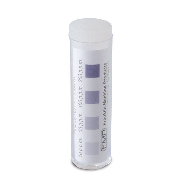 FMP 142-1362 SK-TWC-Chrome Chlorine Sanitizer Test Strips - 100/Pack