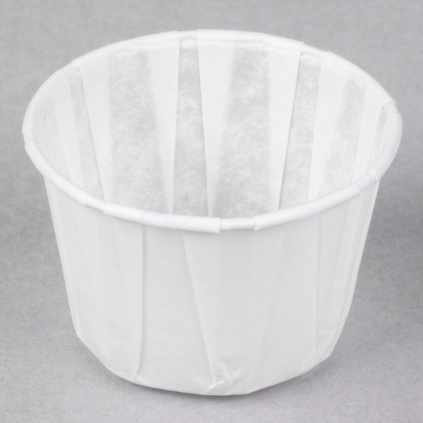 Genpak F200 2 oz. Harvest Paper Souffle / Portion Cup - 5000/Case