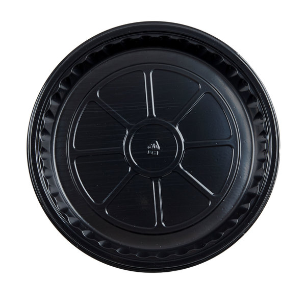 Genpak 55R08 Bake N' Show Dual Ovenable 8 1/2 inch x 1 1/4 inch Round Cake Pan  - 200/Case
