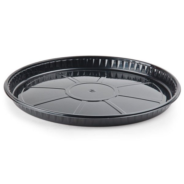 Genpak 55C12 Bake 'N Show Dual Ovenable 12 3/4 inch x 1 inch Round Pizza / Cake / Cookie Pan - 100/Case