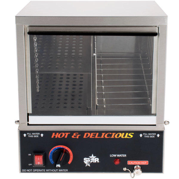 Star 35SSA Hot Dog Steamer 170 Dog - 120V, 800W