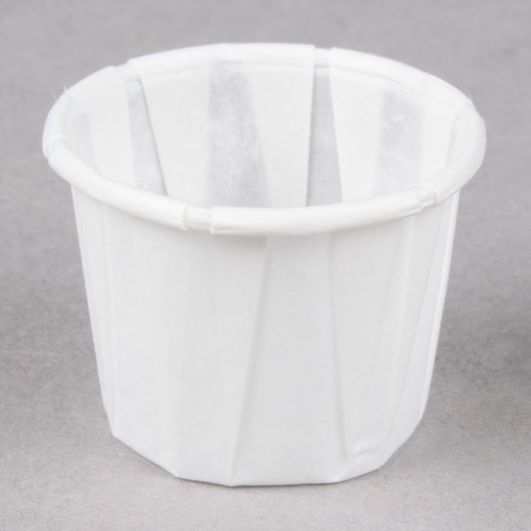 Genpak F050 .5 oz. Harvest Paper Souffle / Portion Cup 5000 / Case