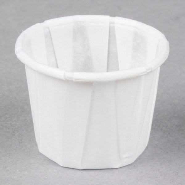 Genpak F050 .5 oz. Harvest Paper Souffle / Portion Cup - 5000/Case