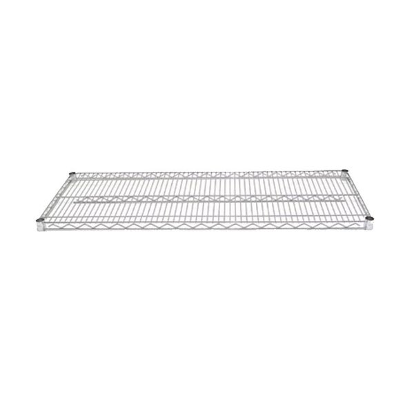Advance Tabco EC-2448 24 inch x 48 inch Chrome Wire Shelf